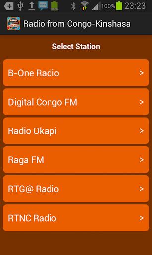 来自刚果金沙萨无线电