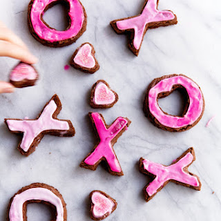 XOXO Valentine's Brownies