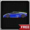 Sports Car 3D Spin LWP icon