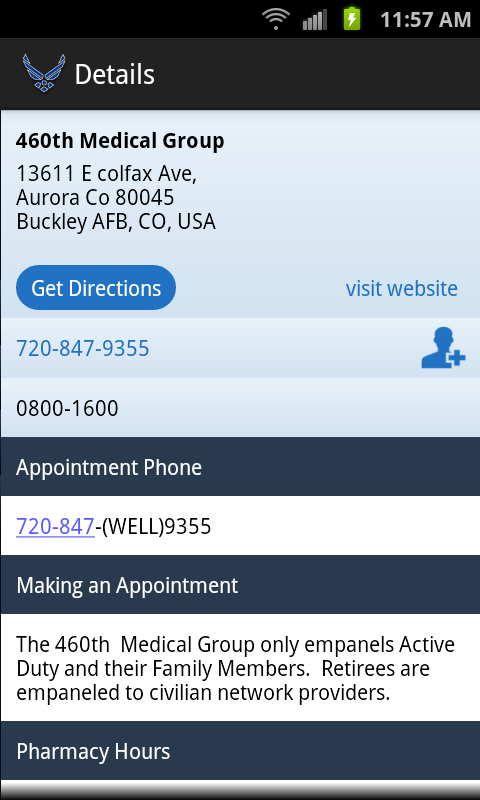 Virtual Medical Center- screenshot
