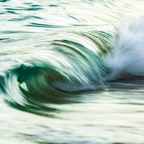 slow dance by Cameron Watts - Landscapes Waterscapes ( water, sand, waterscape, green, waves, art, sea, ocean, beauty in nature, beauty, beach, seascape, fun, landscape, coast, nature, blue, wave, aqua, surf, natural, light,  )