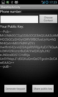 PGP SMS lite- screenshot thumbnail
