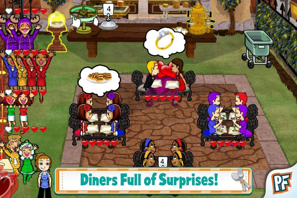 Diner Dash Classic - screenshot
