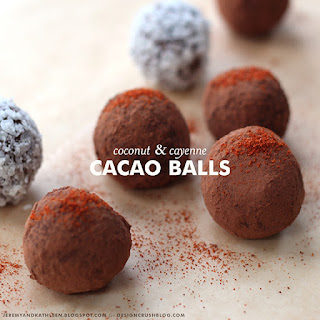 Coconut + Cayenne Cacao Balls
