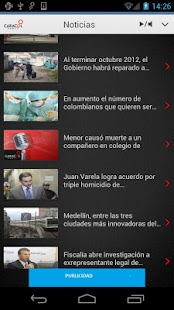 Caracol Radio para Android - screenshot thumbnail