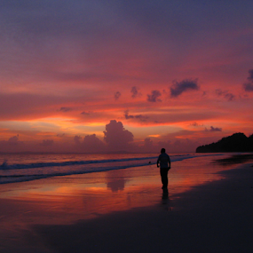End of the day.. by Arup Chowdhury - Landscapes Sunsets & Sunrises (  )