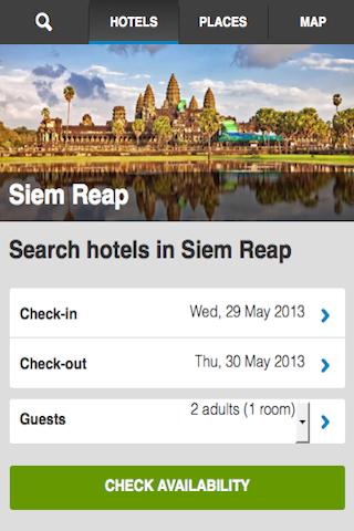 Siem Reap Hotels Booking Cheap