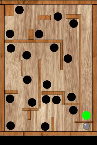 Balance Ball Labyrinth Free - screenshot