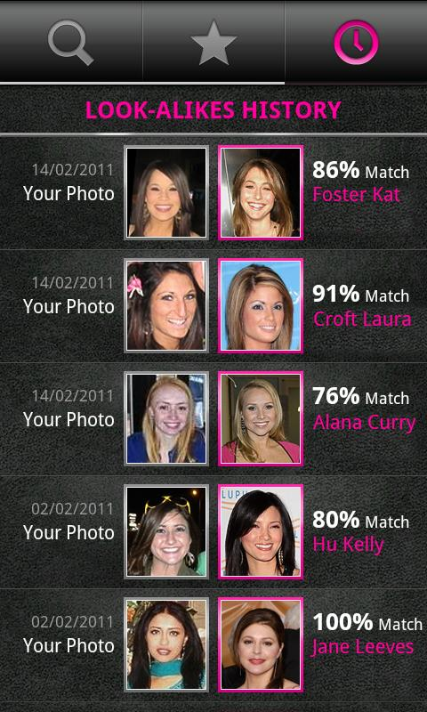 PicFace Celebrity Matchup - screenshot