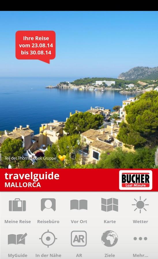 Thomas Cook Travelguide - screenshot