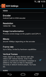 SCR Screen Recorder Pro ★ root Screenshot 2