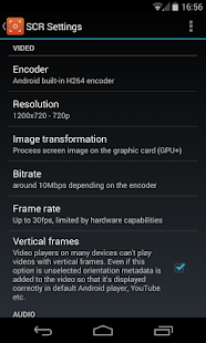 SCR Screen Recorder Pro ★ root 0.14.2-beta