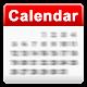 S2 カレンダーウィジェット