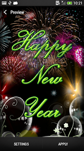 New Year Live Wallpaper - screenshot thumbnail