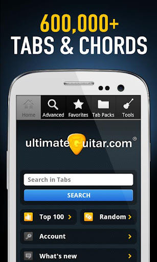 Ultimate Guitar Tabs & Chords v3.3.1 Apk