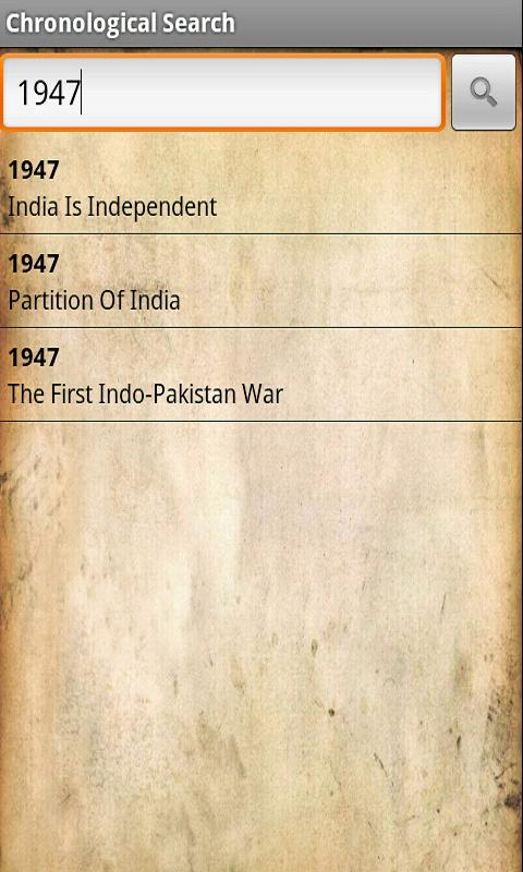 History of India- screenshot