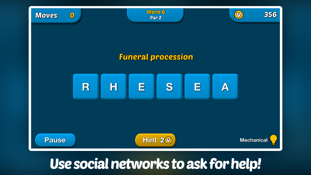 Verby - The Social Word Game - screenshot