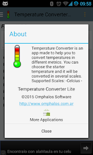 Temperature Converter Lite- screenshot thumbnail