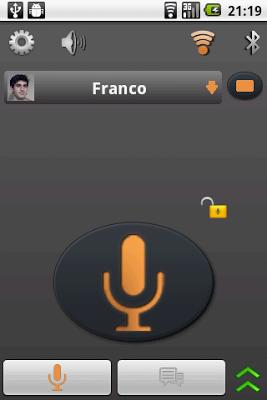 Easy Walkie Talkie & Chat Free - screenshot