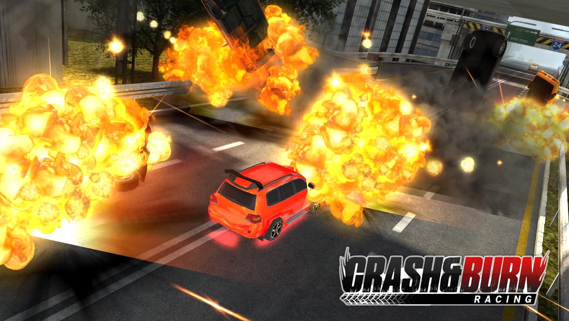 Crash and Burn Racing screenshot #15