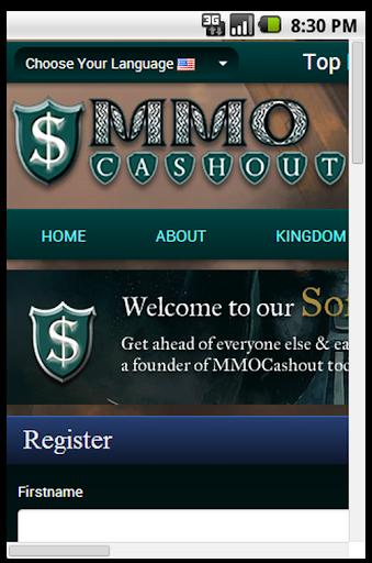 Mmo cashout Make money