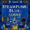 Blue Steampunk GoSMS Pro Theme icon