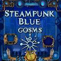 Blue Steampunk GoSMS Pro Theme