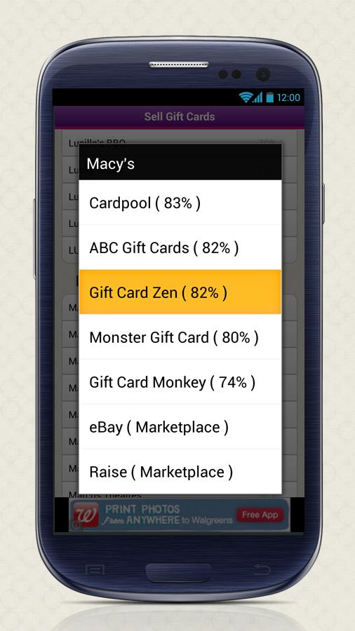 Gift Card Granny - screenshot