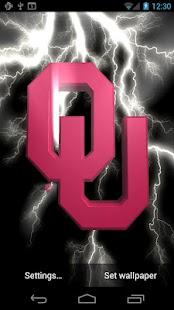 Oklahoma Sooners LWPs & Tone - screenshot thumbnail