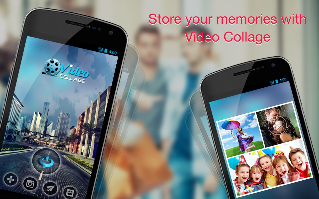 Video Collage - Video editor - screenshot