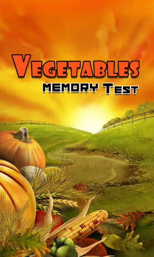 Vegetables Memory Test