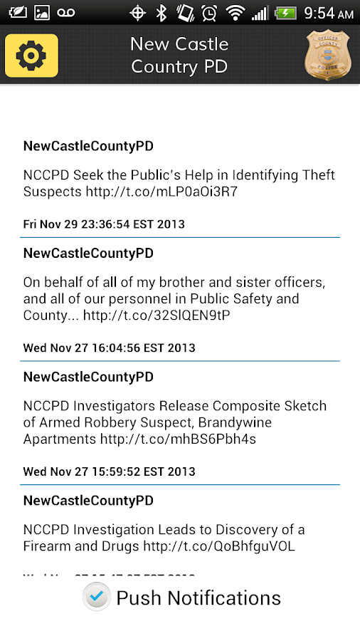 New Castle County Police- screenshot