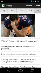 Drudge Report - screenshot thumbnail
