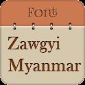 Zawgyi Myanmar Fonts Free icon