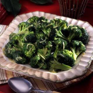 Savory Skillet Broccoli.