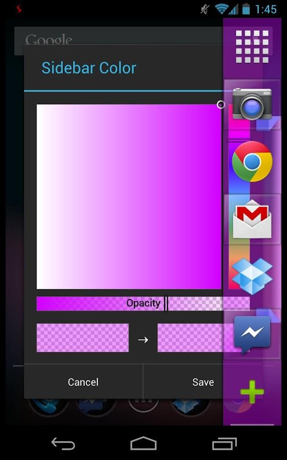 Sidebar Pro - screenshot