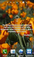 Screenshot of Bible Verses Live Wallpaper