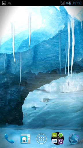RealDepth Ice Cave LWP v1.0.0