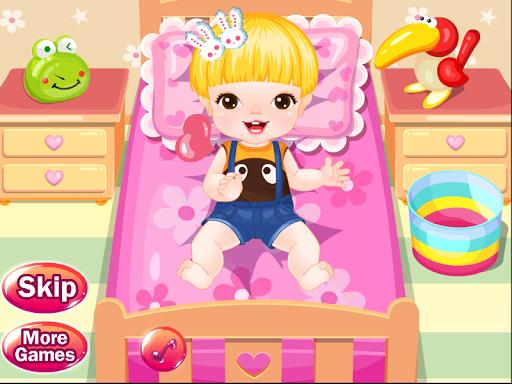 泡泡寶寶洗澡遊戲