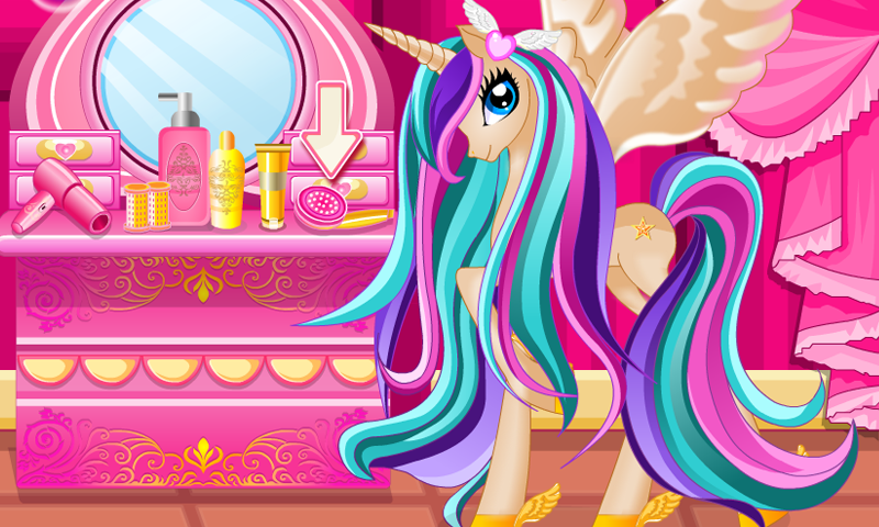Pony Princess Hair Salon- screenshot