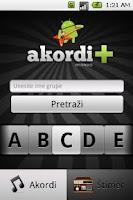 Screenshot of Akordi+