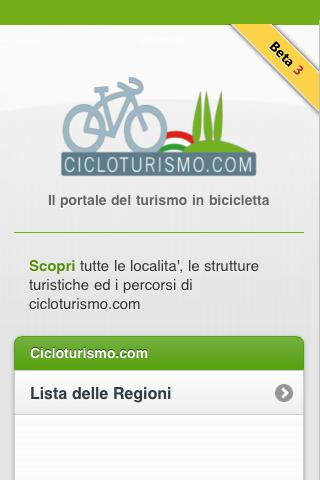 Cicloturismo- screenshot
