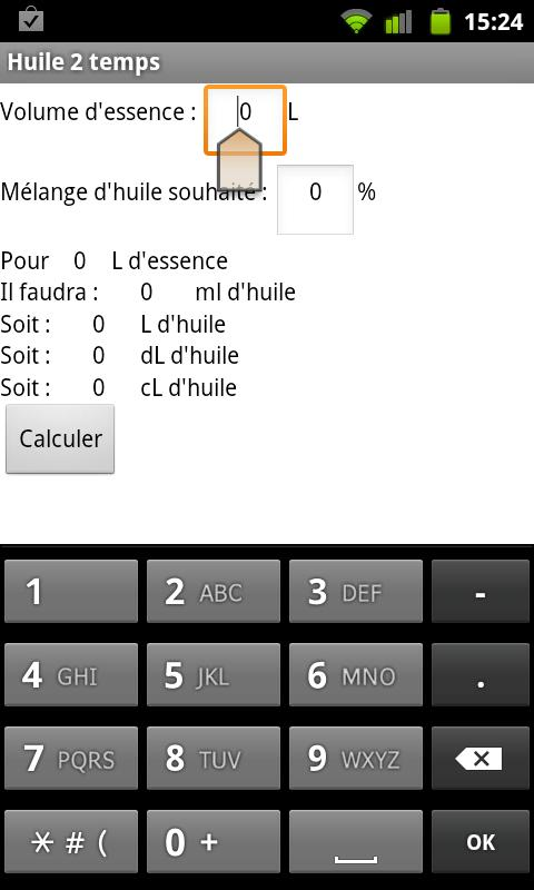 huile 2 temps - screenshot