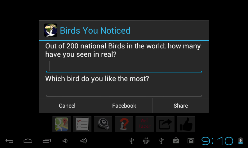 Bird Quiz Game- screenshot