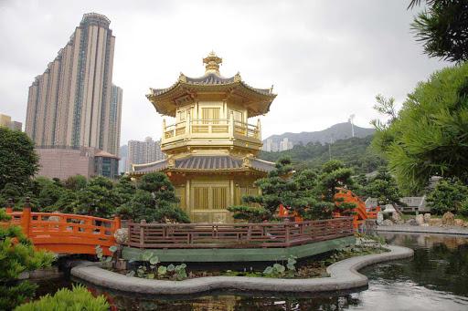 Hong-Kong-Nan-Lian-Garden - Nan Lian Garden in Hong Kong.