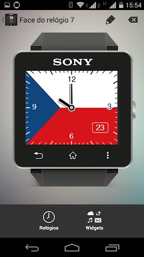Watchface Czech Sony SW2