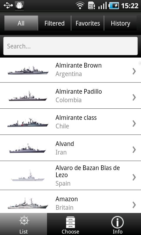 Destroyers  and Frigates- screenshot