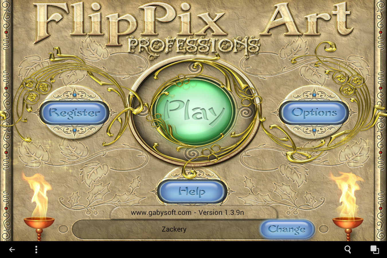 FlipPix Art - Professions- screenshot