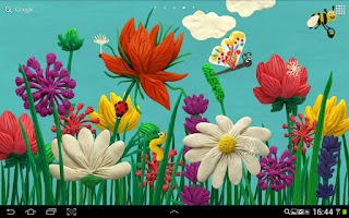 Screenshot of KM Flowers Live wallpaper