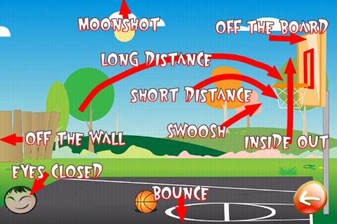 Basketball Trick Shots Lite- screenshot